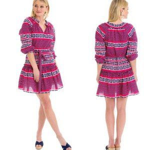 Elizabeth McKay Ruffle Coverup Dress Size Medium